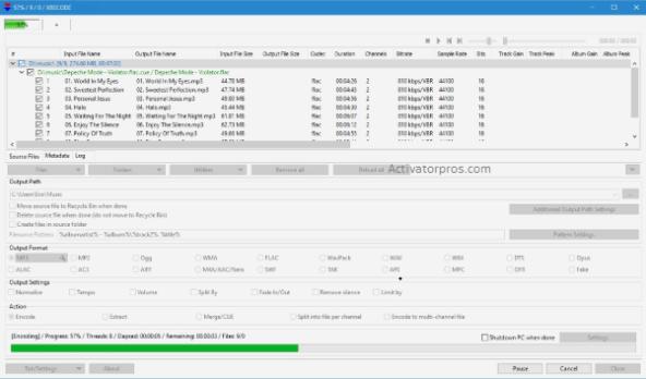 XRECODE 11.3.1 Crack Serial Key Full Version + Torrent Win/Mac 2020