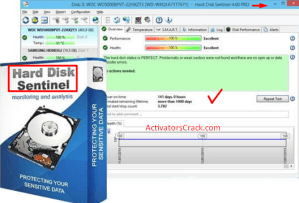 Hard Disk Sentinel Crack + Key