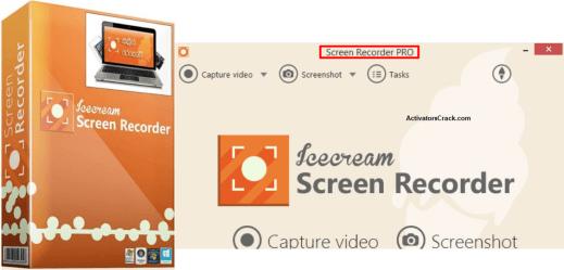 IceCream Screen Recorder Pro Crack + Key
