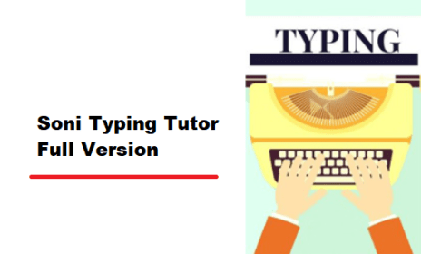 Soni Typing Tutor 4 1 82 Crack With + Activation Key [Fully Version]