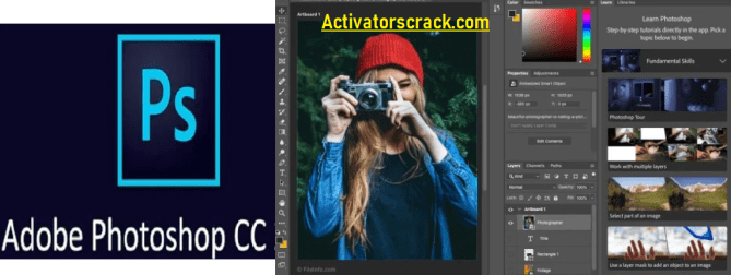 Adobe Photoshop CC Serial Key