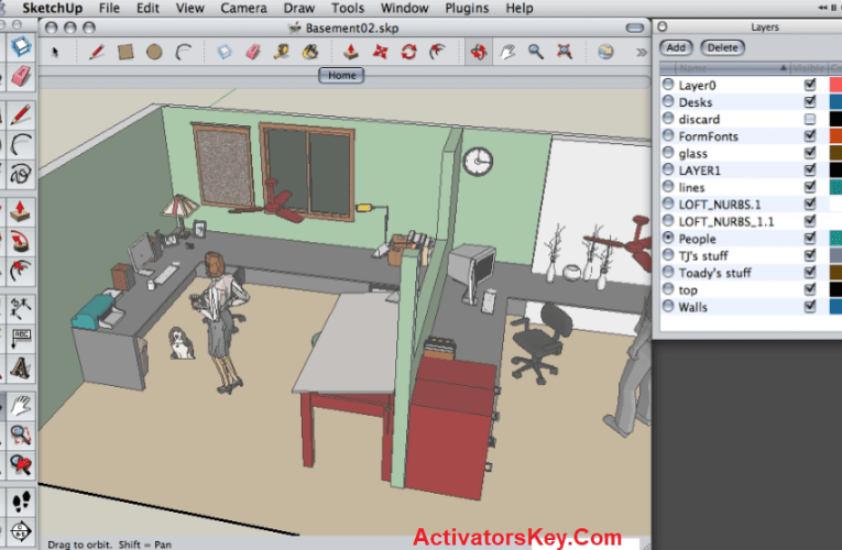 Google SketchUp Pro 2020 Crack + License Key Free Download
