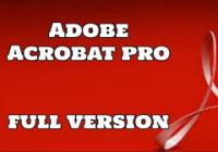 Adobe Acrobat Crack