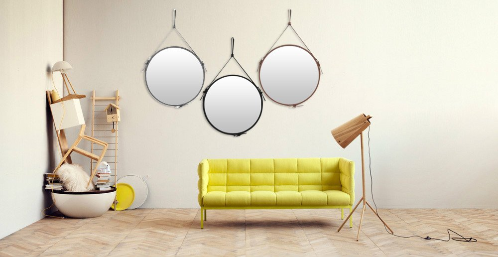 Elegant Round Wall Mirror Decorative Mirror