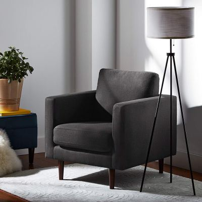 Rivet Revolve Modern Accent Chair