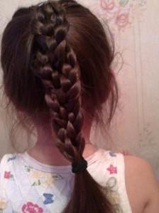 как делать пучок из волос фото   Активная мама