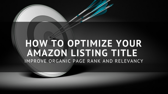 How to optimize your Amazon product listing