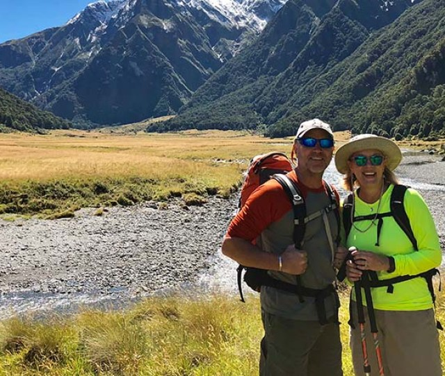 Summer Hiking In New Zealand