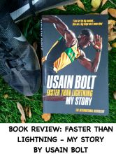 Book review: Faster than Lightning by Usain Bolt