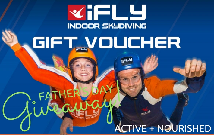Father's Day Giveaway! Win an awesome $440 iFLY voucher!