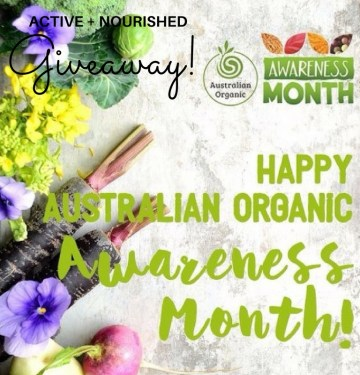 Australian Organic Giveaway! Focus on better health now!