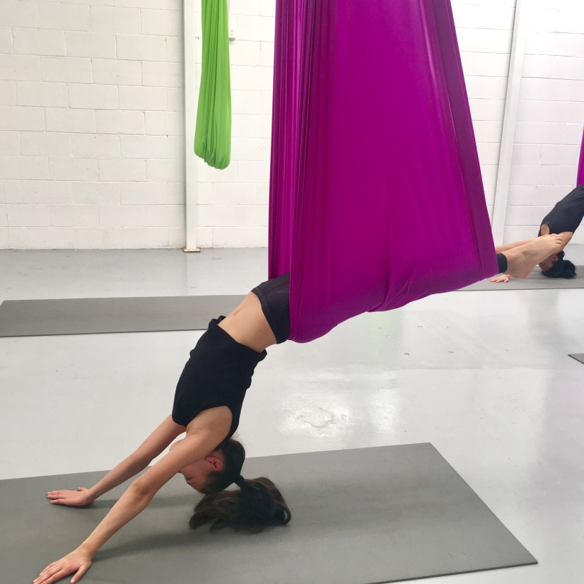 How to up your fun with Aerial Yoga at Yoga Shed!