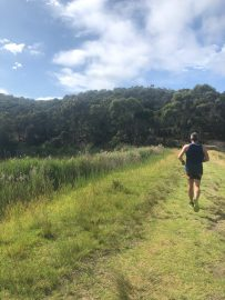 First challenge for the year at the Two Bays Trail Run