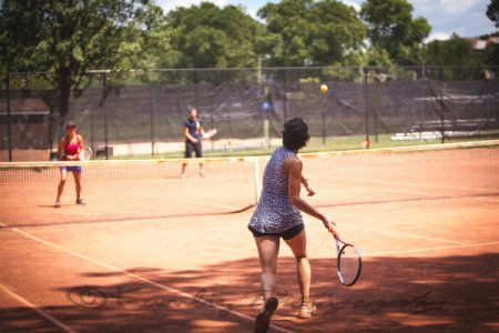 clay tennis courts at frick park in pittsburgh pennsylvania
