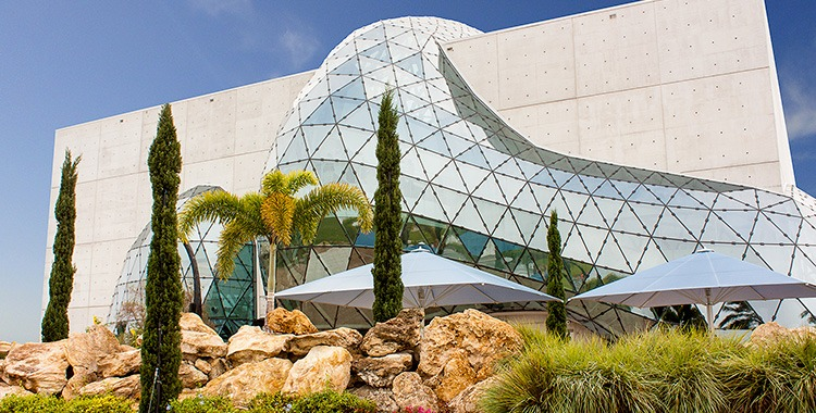 The Dali Museum in St. Petersburg