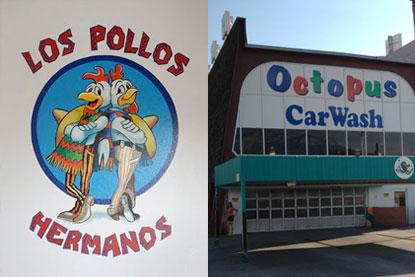 Los Pollos Hermanos & Octopus Car Wash