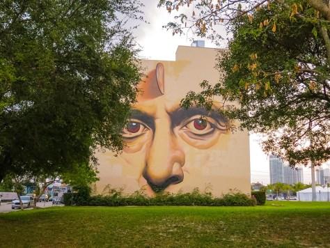 Painting by Ino, Wynwood, Miami