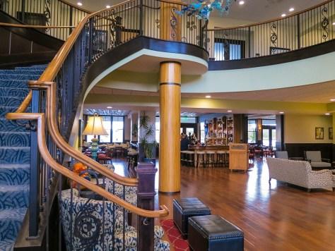 The Inn at Harbor Shores Lobby