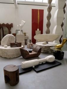Sculptures in Atelier Brancusi