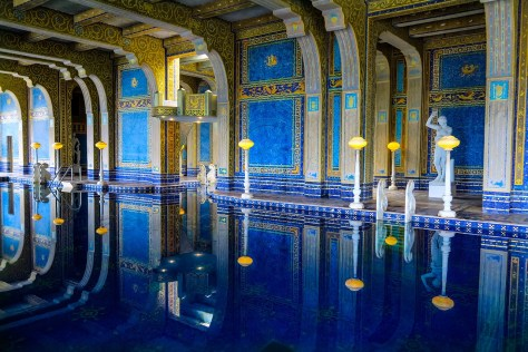 Indoor Roman Pool at The Hearst Castle, San Simeon