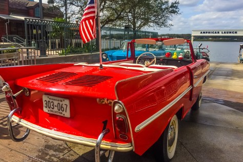 Amphicar at Disney Springs