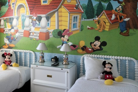 Kids bedroom at Encore Resort