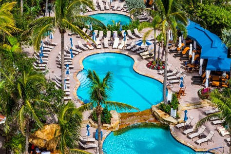 LaPlaya Beach & Golf Resort pools photo credit: John Cameron