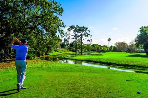 PGA tour pro Bruce Zabriski plays The Fazio