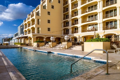 The Atlantic Hotel & Spa Pool
