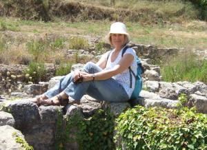 Αγγλίδα τουρίστρια