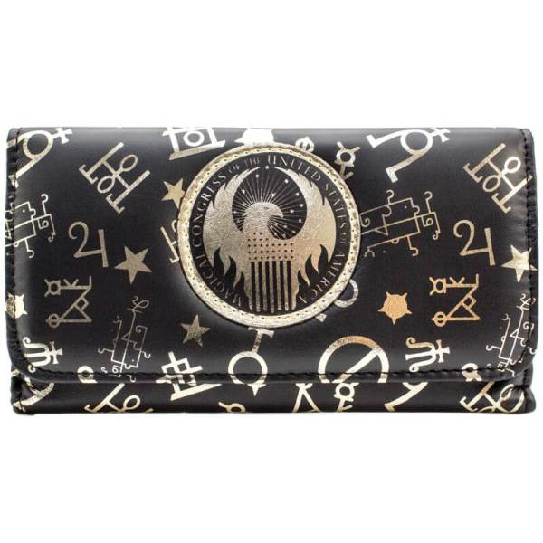 Fantastic Beasts Magical Congress Pattern Purse