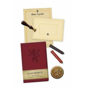 Game of Thrones House Lannister Deluxe Stationery Set 1