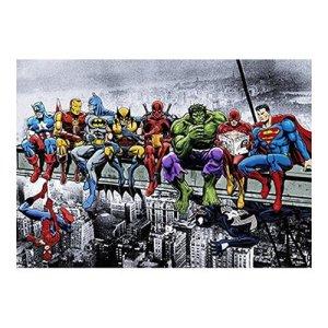 Marvel & DC Superheroes Skyscraper Poster