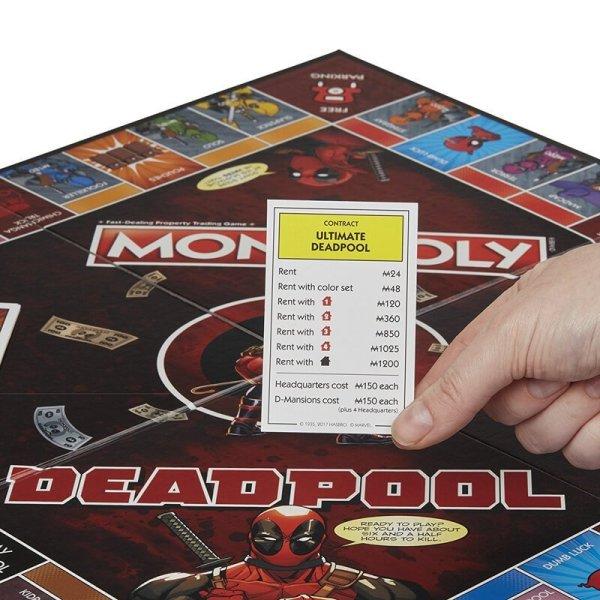 Marvel Deadpool Monopoly Board Game4