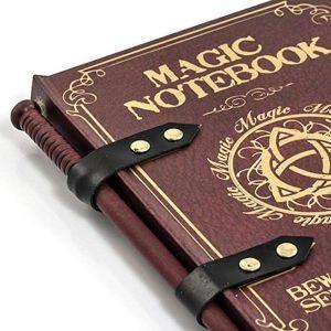 Magic Wand Note Book Close up