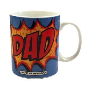 Dad Comic Book Style Mug