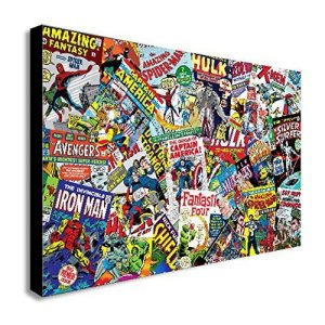 Marvel Comics Collage Canvas