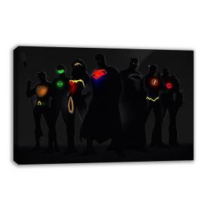 Marvel & DC Superheroes Canvas