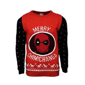 Marvel Deadpool Merry Chimichanga Christmas Jumper