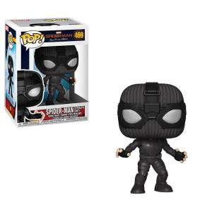 Spider-Man: Far from Home Stealth Suit POP! Figure and Box