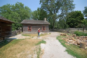 Daniel Stong Loghouse, Black Creek Pioneer Village. (Photo by John Griffiths under Creative Commons)