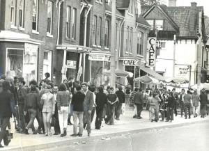 Yorkville, 1968. Toronto Star.