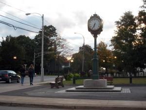 Wolfville's Clock Park