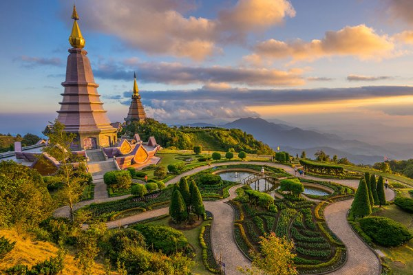 Doi Inthanon National Park from Chiang Mai