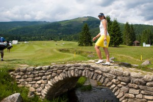 Zuzana Kamasova golfovy turnaj zensky na taloch, Tale, Slovakia