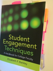 My dog-eared copy of Student Engagement Techniques: A Handbook for College Faculty.