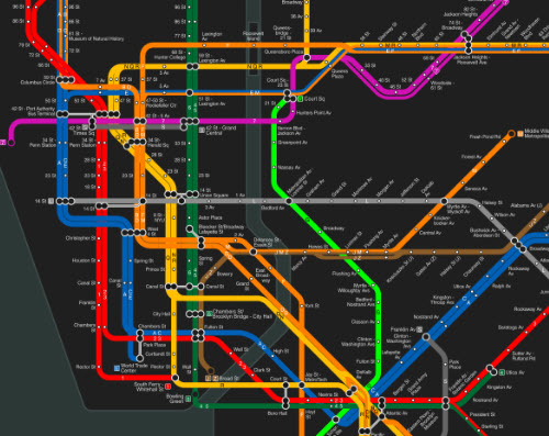 Brand New Subway Map.The Brand New Subway Game Active Learning In Political Science C