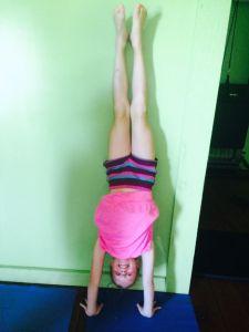 Maeve Handstand