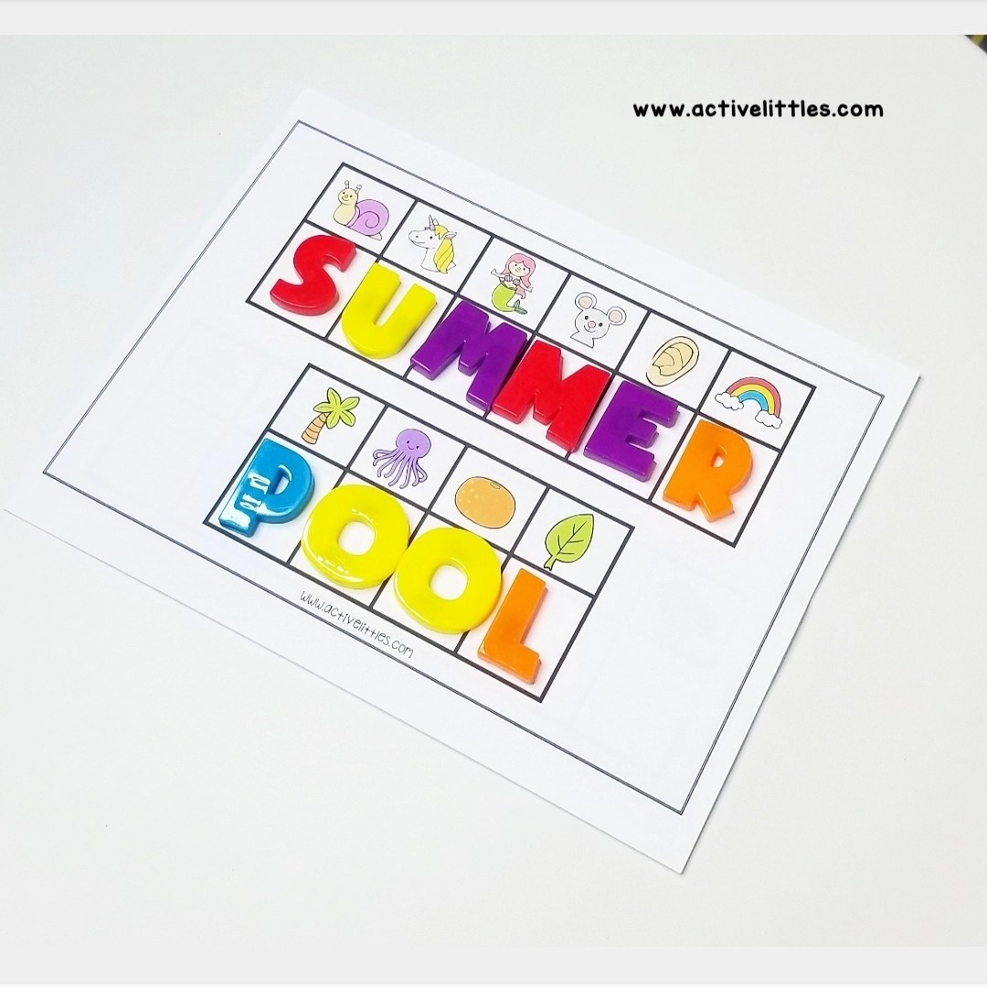 Summer Word Search Activity Cards