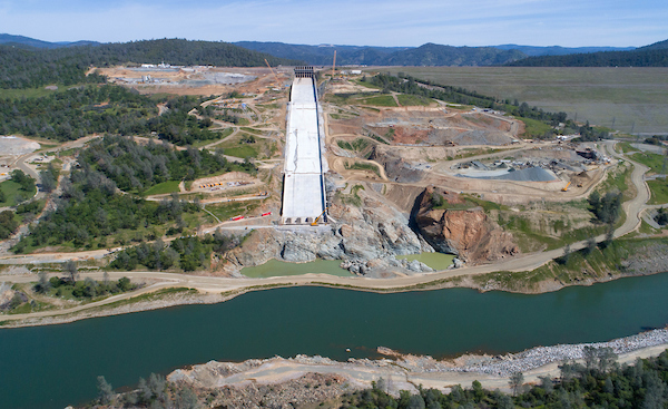 Breaking: The Brand-New Oroville Dam Spillway will be Used